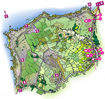 Walk 2 Map - St Agnes Beacon